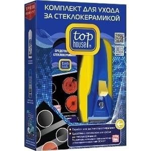 Top House TOP HOUSE Комплект для ухода за стеклокерамикой, 2 предмета
