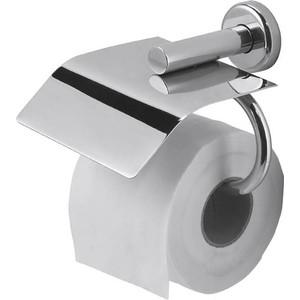 Держатель туалетной бумаги Nofer Brass горизонтальный, хром (16361.B)