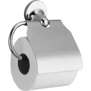 Держатель туалетной бумаги Nofer Hotel горизонтальный, с крышкой, хром (16417.B) боди для мальчика cherubino цвет красный cwn 4164 185 размер 56