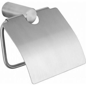 Держатель туалетной бумаги Nofer Roma с крышкой, хром (16826.S)