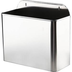 Контейнер для мусора Nofer 11 литров, хром (14098.2.S)