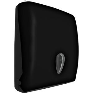 Диспенсер для бумажных полотенец Nofer 600 листов, черный (04020.C)