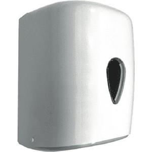 Диспенсер для бумажных полотенец Nofer Wick 1 рулон / 195 мм диаметр, белый (04108.W)