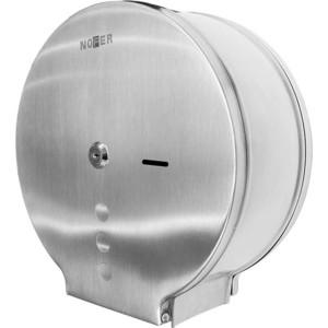 Диспенсер для туалетной бумаги Nofer Industrial 230 мм, хром/матовый (05006.S)