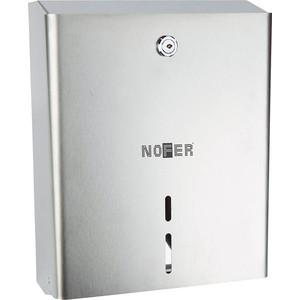 Диспенсер для туалетной бумаги Nofer Industrial 280 мм, хром/матовый (05104.S)