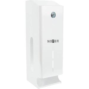 Диспенсер для туалетной бумаги Nofer Three rolls 3 рулонов, белый (05102.W)