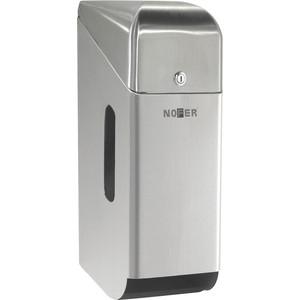 Диспенсер для туалетной бумаги Nofer Three rolls 3 рулонов, с крышкой, хром/матовый (05100.S)