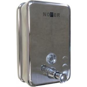 Диспенсер для мыла Nofer Inox 1,2 литра, хром/глянцевый (03041.B)