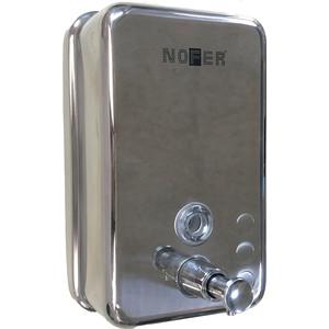 Диспенсер для мыла Nofer Inox 1,2 литра, хром/матовый (03041.S)