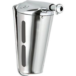 Диспенсер для мыла Nofer Inox 0,345 литра, хром/глянцевый (03003.B)