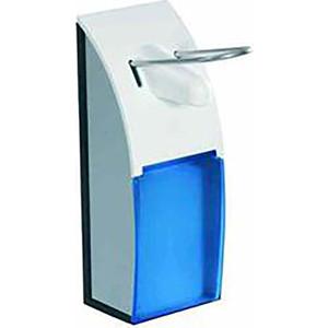 Диспенсер для мыла Nofer 0,5 литра, белый/синий (03013.ABS)