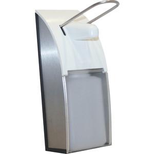 Диспенсер для мыла Nofer 0,5 литра, белый/хром (03013.AL)