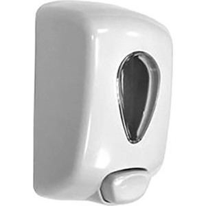 Диспенсер для мыла Nofer Classic Serires 1,0 литр, белый (03036.W)