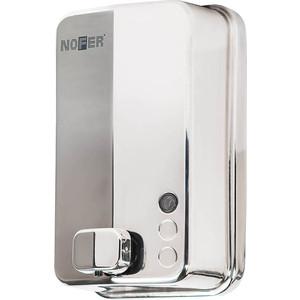 Дозатор для мыла Nofer Inox 1,2 литра, хром/глянцевый (03050.B)