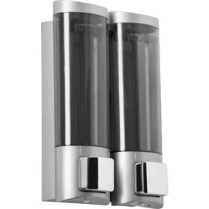 Диспенсер для мыла Nofer Classic Serires 2х0,2 литра, белый (03032.T)