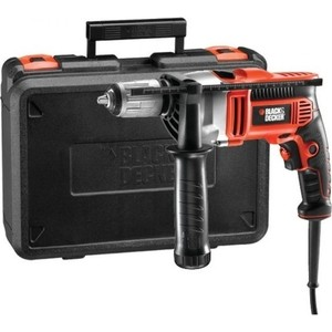 Дрель ударная Black+Decker KR705K-XK дрель black and decker kr705k