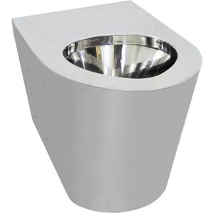 Чаша унитаза Nofer хром/матовый (13013.S)