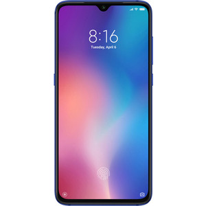 Смартфон Xiaomi Mi 9 6/128Gb Blue смартфон xiaomi pocophone f1 6 128gb blue