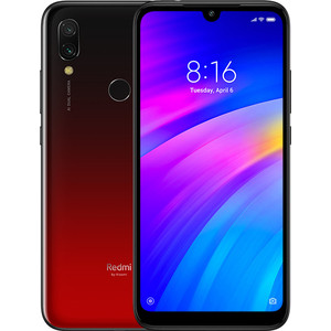 Смартфон Xiaomi Redmi 7 3/32Gb Red смартфон xiaomi redmi 6 3 32gb blue