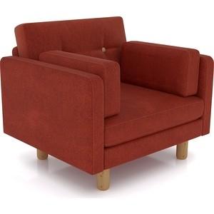 Кресло Anderson Ингвар коричневый велюр