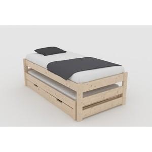 Кровать Anderson Тильда сосна 80x160