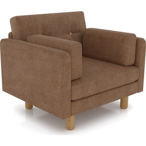 Кресло Anderson Ингвар светло - коричневый велюр