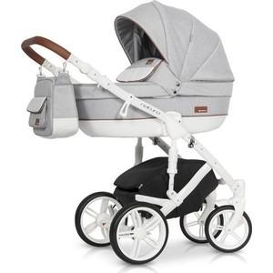 Коляска 3 в 1 Riko NATURO 01 коричневый-серый коляска 3 в 1 cam comby taski fashion 658 серый белый