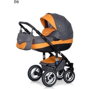 Коляска Riko BRUNO 06 серый-оранжевый