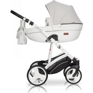 Коляска 2 в 1 Riko AICON 01 серый-белый коляска 3 в 1 cam comby taski fashion 658 серый белый