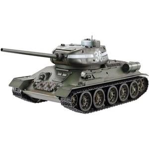 Радиоуправляемый танк Taigen T34-85 (СССР) (для ИК танкового боя) KIT масштаб 1:16 2.4G - TG3909-1KIT-IR радиоуправляемая игрушка pilotage танковый бой micro ir fighting tanks tiger vs t34 85 a
