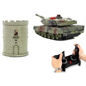 Радиоуправляемый танковый бой Huan Qi HQ550B масштаб 1:24 RTR 2.4GHz - HQ550B радиоуправляемый танковый бой huan qi 552 масштаб 1 32 2 4g