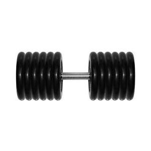 Гантель Original Fit Tools 51 кг черная неразборная (G51)