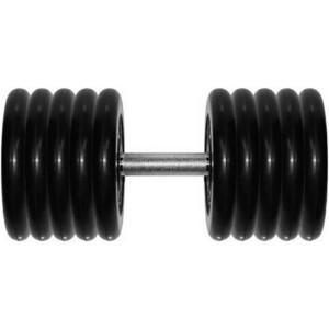 Гантель Original Fit Tools 81 кг черная неразборная (G81)