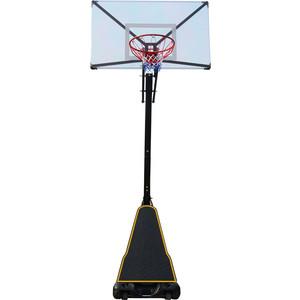 Баскетбольная мобильная стойка DFC STAND54T 136x80 см поликарбонат баскетбольная мобильная стойка dfc kids1 60x40 см