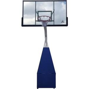 Баскетбольная мобильная стойка DFC STAND72G PRO 180x105 см стекло 12мм