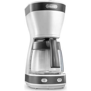 Кофеварка капельная DeLonghi ICM16210.WS