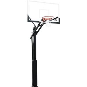 Баскетбольная стационарная стойка DFC ING60U 152x90 см