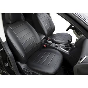 Авточехлы Rival Строчка для сидений Kia Ceed III хэтчбек, универсал (с задним подлокотником) (2018-н.в.), эко-кожа, черные, SC.2808.1
