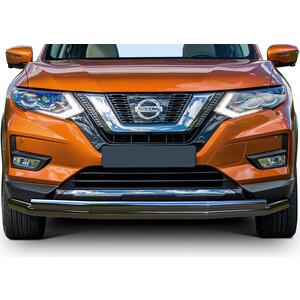 Защита переднего бампера d57+d42 Rival для Nissan X-Trail T32 рестайлинг (2018-н.в.), R.4125.001 цена
