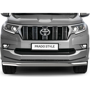 цена на Защита переднего бампера d76 Rival для Toyota Land Cruiser Prado 150 рестайлинг (Style) (2019-н.в.), R.5723.001