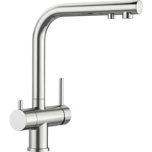 цена на Смеситель для кухни Blanco Fontas II с фильтром Барьер Expert Standard, нержавещая сталь (525138P1)