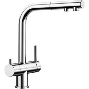 Смеситель для кухни Blanco Fontas-S II под фильтр, с выдвижным изливом, хром(525198) смеситель для кухни blanco fontas s ii под фильтр с выдвижным изливом жасмин 525202