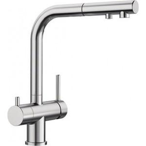 Смеситель для кухни Blanco Fontas-S II под фильтр, с выдвижным изливом, нержавещая сталь (525199)