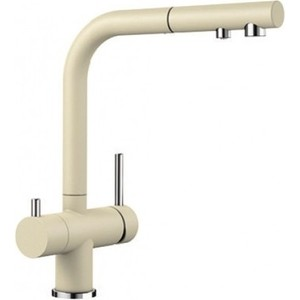Смеситель для кухни Blanco Fontas-S II под фильтр, с выдвижным изливом, шампань (525203)