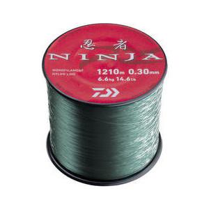 Леска рыболовная Daiwa Ninja X Line 2400м 0,20мм (3,1кг) светло-зеленая