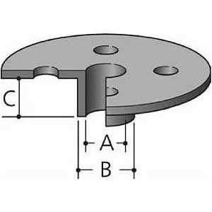 Втулка направляющая Makita 40/37х11.5мм для 3612/3620/RP2300FC (165046-4)