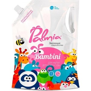 Средство для мытья детской посуды PALMIA Bambini дой-пак 1 л