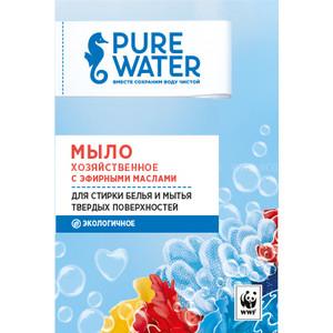Мыло PURE WATER хозяйственное с эфирными маслами 175 г