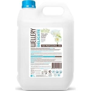 Жидкое средство WELLERY для деликатной стирки белых и светлых вещей 5 л