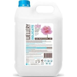 Жидкое средство WELLERY для деликатной стирки цветных вещей 5 л